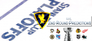 GoldenEaglez.com NHL 2nd Round Playoff Predictions & 1st Round Recap