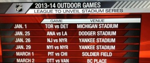 Exclusive: NHL Stadium Series New York