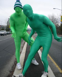 Vancouver's Green Men Called Out As 40 Year Old Virgins