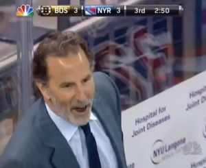 Linesman Gives John Tortorella A Taste of His Own Medicine