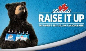 Labatt Blue Bear is the Best Mascot Ever