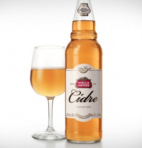 Stella Artois Cidre Slated for May 13th Launch