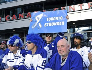 Maple Leafs Fan Wants His Ass Whooped