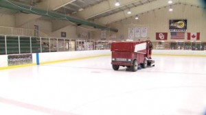 Drunk Guy Takes Zamboni For A Spin