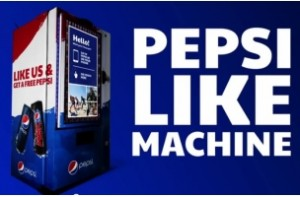 Pepsi is Trading Facebook Likes For Free Pepsi